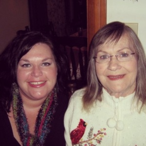 My Sweet Mama and I celebrating what would be our last Christmas together - 2008